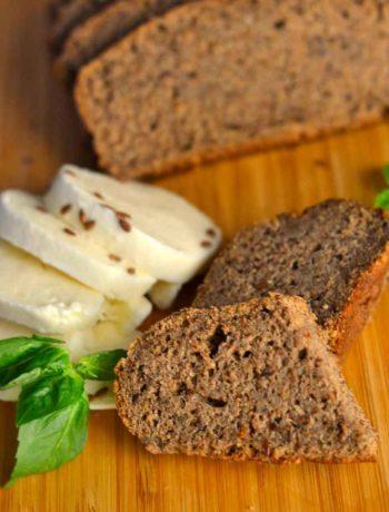 Ржан леб со ленено семе