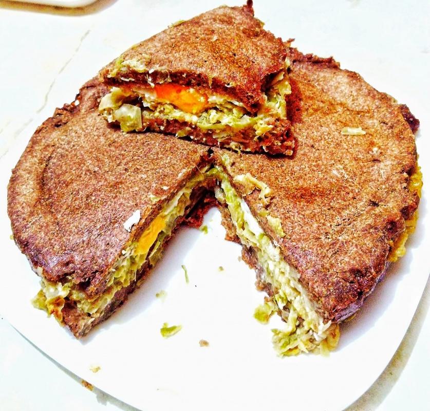 Појадок - Пита со праз и јајца