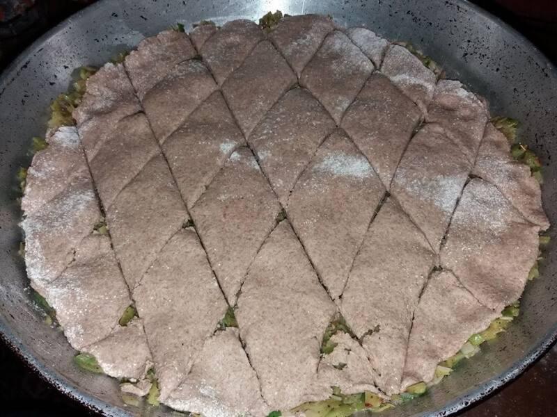 Појадок - Пита со праз